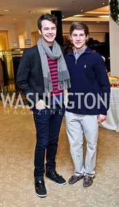 Luke Rozanski, Loren Marx. Photo by Tony Powell. Valentino 2013 Collection to benefit Autism Speaks. Saks Jandel. December 9, 2012