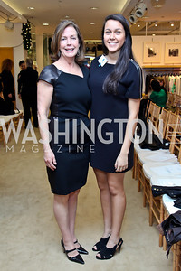 Ginger and Sarah Pape. Photo by Tony Powell. Valentino 2013 Collection to benefit Autism Speaks. Saks Jandel. December 9, 2012