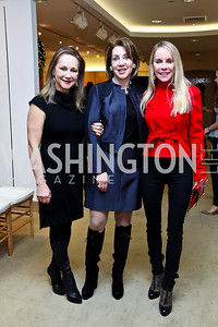 Cindy Spear, Nancy Duber, Cindy Jones. Photo by Tony Powell. Valentino 2013 Collection to benefit Autism Speaks. Saks Jandel. December 9, 2012