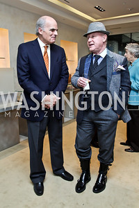Scott McCulloch, Bob Stewart. Photo by Tony Powell. Valentino 2013 Collection to benefit Autism Speaks. Saks Jandel. December 9, 2012