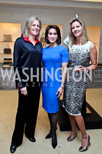 Debbie Dockser, Kimberly Klein, Michelle Pablo. Photo by Tony Powell. Valentino 2013 Collection to benefit Autism Speaks. Saks Jandel. December 9, 2012