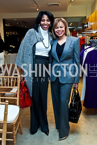 Lisa Davis, Cheryl Cooper. Photo by Tony Powell. Valentino 2013 Collection to benefit Autism Speaks. Saks Jandel. December 9, 2012