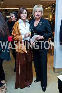 Patricia Packard, Audrey Thacker. Photo by Tony Powell. Valentino 2013 Collection to benefit Autism Speaks. Saks Jandel. December 9, 2012