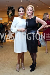 Shelly Galli, Juliet Reid. Photo by Tony Powell. Valentino 2013 Collection to benefit Autism Speaks. Saks Jandel. December 9, 2012