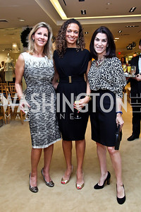 Michelle Pablo, Lori Soto, Tracy Bernstein. Photo by Tony Powell. Valentino 2013 Collection to benefit Autism Speaks. Saks Jandel. December 9, 2012