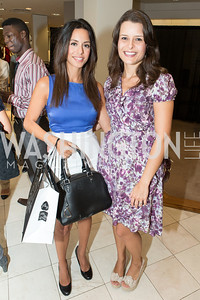 Paniz Firouzabadi, Elena Perndersgast. Saks and Washington Ballet Red Valentino Fall 2012 Shopping Party. Photo by Alfredo Flores. Saks Chevy Chase. September 13, 2012