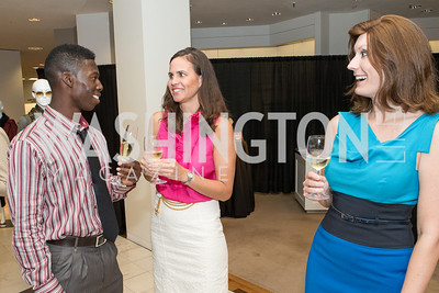 Brooklyn Mack, Elizabeth Bunting, Joy Elena Robertson. Saks and Washington Ballet Red Valentino Fall 2012 Shopping Party. Photo by Alfredo Flores. Saks Chevy Chase. September 13, 2012