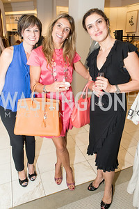 Beth Kohlhoss, Ana Mayans de Baier, Sheila Esfandiari. Saks and Washington Ballet Red Valentino Fall 2012 Shopping Party. Photo by Alfredo Flores. Saks Chevy Chase. September 13, 2012