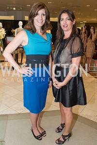 Joy Elena Robertson, Kerri Larkin. Saks and Washington Ballet Red Valentino Fall 2012 Shopping Party. Photo by Alfredo Flores. Saks Chevy Chase. September 13, 2012