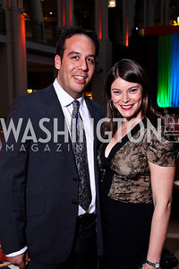Jeremy Abrams and Gail Simmons. School Night 2012. April 13, 2012. Photo by Tony Powell