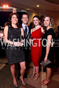Meredith Makris, Jeff Ingenloff, Stacia Young, Elena Rubinfeld. School Night 2012. April 13, 2012. Photo by Tony Powell