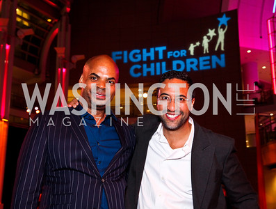 Fabian Barnes, Brian Williams. School Night 2012. April 13, 2012. Photo by Tony Powell