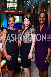 Marci Young, Gail Simmons, Grace Katabaruki. School Night 2012. April 13, 2012. Photo by Tony Powell
