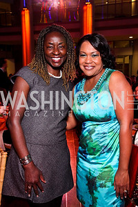 Rynthia Rost, Karen Campbell. School Night 2012. April 13, 2012. Photo by Tony Powell