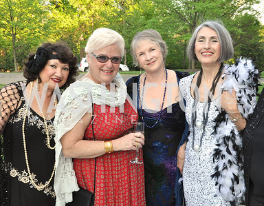 Scylla Ganton, Mita schaffer Bonnie Fogel Carol Traywick. Signature Theater, Stephen Sondheim Award Gala, April 16, 2012, The Embassy of Italy . Photo by Ben Droz