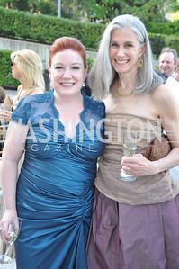 Maggie Boland,  Raeanne Hytone .  Signature Theater, Stephen Sondheim Award Gala, April 16, 2012, The Embassy of Italy . Photo by Ben Droz