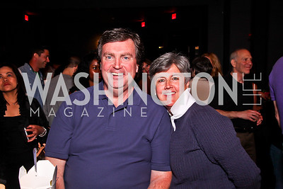 Former County Executive of Montgomery County Doug Duncan and Barbara Duncan. Silverdocs Opening Night After Party. Photo by Tony Powell. The Fillmore. June 18, 2012
