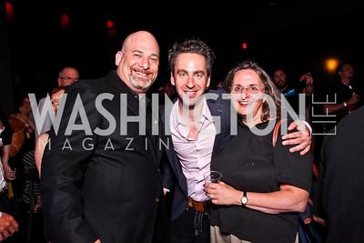 Josh Levin, Josh Green, Nina Seavey. Silverdocs Opening Night After Party. Photo by Tony Powell. The Fillmore. June 18, 2012
