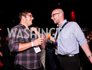 Matt Cohen, Alan Zilberman. Silverdocs Opening Night After Party. Photo by Tony Powell. The Fillmore. June 18, 2012
