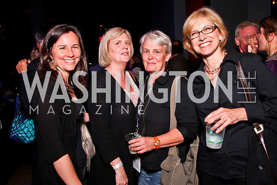 Jane Moya, Fay and Mary Ann Brownlow, Beth Judy. Silverdocs Opening Night After Party. Photo by Tony Powell. The Fillmore. June 18, 2012