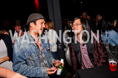 Brian Liu, K Nguyen. Silverdocs Opening Night After Party. Photo by Tony Powell. The Fillmore. June 18, 2012