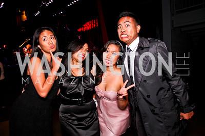 Judy Naldo, Annabelle Dorion, Gabby Laxamana, Joe Naldo. Silverdocs Opening Night After Party. Photo by Tony Powell. The Fillmore. June 18, 2012