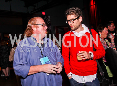 Ron Moore, David White. Silverdocs Opening Night After Party. Photo by Tony Powell. The Fillmore. June 18, 2012
