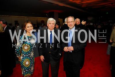 Anna Soellner, Chris Dodd, Howard Gantman, February 1, 2012, Smithsonian Bicentennial Medal - Clint Eastwood, Kyle Samperton