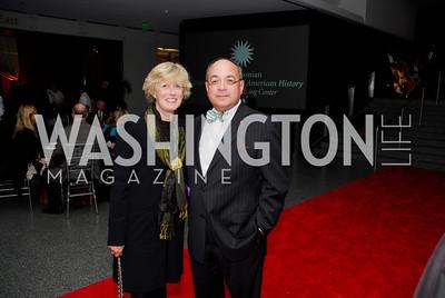 Beth Suarez, Joe Suarez, February 1, 2012, Smithsonian Bicentennial Medal - Clint Eastwood, Kyle Samperton