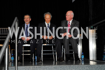 Barry Meyer, Clint Eastwood, Senator Patrick Leahy, February 1, 2012, Smithsonian Bicentennial Medal - Clint Eastwood, Kyle Samperton