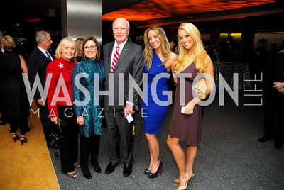 Marcelle Leahy, Wendy Smith, Senator Patrick Leahy, Sarah Valerio, Britt McHenry, February 1, 2012, Smithsonian Bicentennial Medal - Clint Eastwood, Kyle Samperton