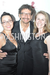 Julia Ortiz, Len DePas, Mary Schollhamer, Champagne at Sunset for St. Jude Children's Hospital Research at W Hotel POV Lounge. Photo by Ben Droz