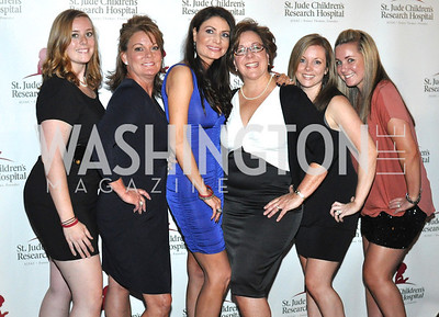 Dr. Elba Pancheco and Elizabeth Penttinen surrounded by Adoro Medical Spa, Champagne at Sunset for St. Jude Children's Hospital Research at W Hotel POV Lounge. Photo by Ben Droz