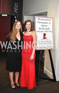 Jennifer Allert, Lauren Willner,  Champagne at Sunset for St. Jude Children's Hospital Research at W Hotel POV Lounge. Photo by Ben Droz