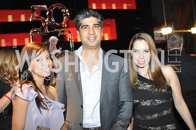 Amelia Pranata, Ravi Dahiya, Varinia Vigueras,  Champagne at Sunset for St. Jude Children's Hospital Research at W Hotel POV Lounge. Photo by Ben Droz