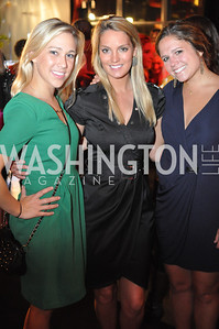 Erin Martin, Christine Levi, Hallie Groff, Champagne at Sunset for St. Jude Children's Hospital Research at W Hotel POV Lounge. Photo by Ben Droz