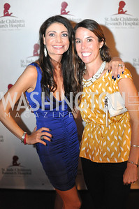 Elizabeth Penttinen, Lindsay Dieringer, Champagne at Sunset for St. Jude Children's Hospital Research at W Hotel POV Lounge. Photo by Ben Droz