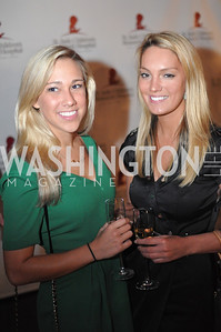 Erin Martin, Christine Levi,  Champagne at Sunset for St. Jude Children's Hospital Research at W Hotel POV Lounge. Photo by Ben Droz