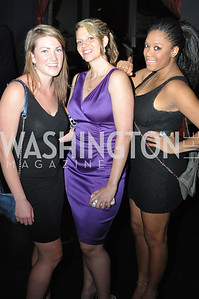 Kirsten Hesla, Devon Roscoe, Christal Achille, Champagne at Sunset for St. Jude Children's Hospital Research at W Hotel POV Lounge. Photo by Ben Droz