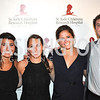 Sahara Ghafari, Paula Mannarino, Hallie Groff, Dan Austin, Champagne at Sunset for St. Jude Children's Hospital Research at W Hotel POV Lounge. Photo by Ben Droz