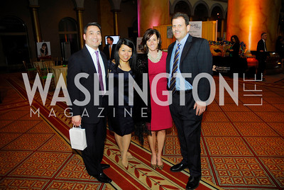 Kevin WongSusanne Ling,Jenny Kurdle,Kyle Kurdle,February 21,2012, St.Jude Gourme Gala ,Kyle Samperton