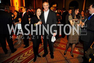 Ellen Gorodetsky,Wes Heppler,February 21,2012, St.Jude Gourmet Gala,Kyle Samperton