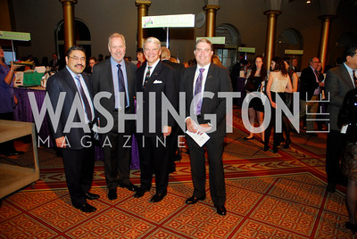 Bob Hisaoka,Tom Liljenquist,Alan McCarter, David Gorodeski,February 21,2012, St.Jude Gourmet Gala,Kyle Samperton