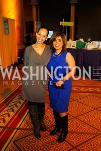 Nicole Wahnun,Lina Dakouni,February 21,2012, St.Jude Gourmet Gala,Kyle Samperton