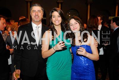 Danny Abi-Najm,Danni Abi-Najm,Sohie Abi-Najm,February 21,2012, St.Jude Gourmet Gala,Kyle Samperton