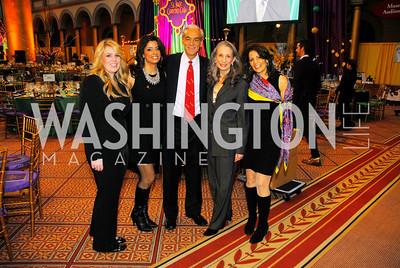 Chareese Cunningham,Gladys Abi-Najm,Rick Shadyac,Donna Tschieffely,Eunice Mazloom,February 21,2012, St.Jude Gourmet Gala,Kyle Samperton