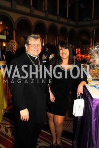 Father John Kemper,Laura Tester,February 21,2012, St.Jude Gourmet Gala,Kyle Samperton