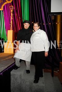 Santos Fuentes,Ris Lacoste,February 21,2012, St.Jude Gourmet Gala,Kyle Samperton