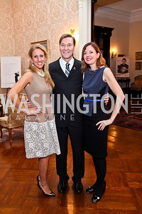 Georgia Frasch, Michael Olding, Marie Royce. Photo by Tony Powell. St. Jude Reception at the residence of the Lebanese Ambassador. November 13, 2012
