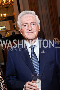 Dr. Amin Barakat. Photo by Tony Powell. St. Jude Reception at the residence of the Lebanese Ambassador. November 13, 2012